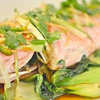 Steamed White Snapper with Ginger