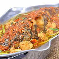 Fried Snapper With Curry