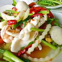 Spiced Seafood Salad