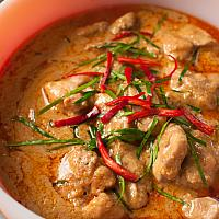 Pennang Cury With Chicken