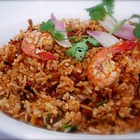 Tom Yum Fride Rice With Srim