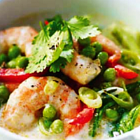 Green Curry With Seafood