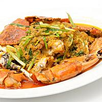 Stir Fried Crab Curry