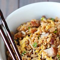 Fried Rice Pork