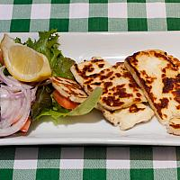 21. Haloumi cheese