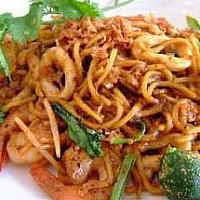 Fried Yellow Noodle With Seafood