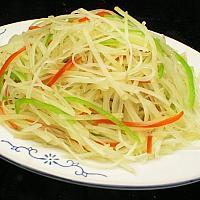 Fried potato silk 炝炒土豆丝