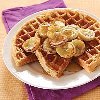 Waffle Caramel &Banana