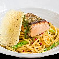 Spaghetti Salmon Vodka