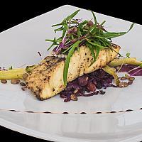 Grilled Seabass Fillet