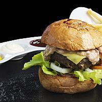 Beef Burger 200g.