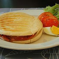 Panini Cheese Ham tomato