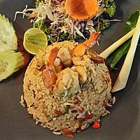 Fried Rice Tom yum kung ข้าวผัดต้มยำ