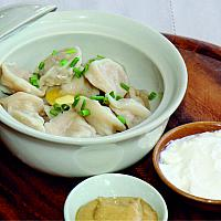 Siberian Pelmeni with pork
