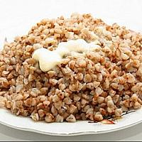 Buckwheat with butter