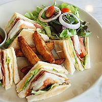 Club Sandwich With Bacon