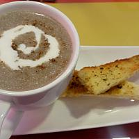 Cappuccino Mushroom soup