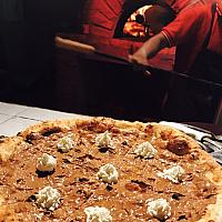 64 Nutella (chocolate) Pizza