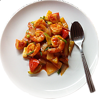 VEGETABLES IN SWEET AND SOUR SAUCE