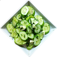 FRESHLY-SALTED CUCUMBERS