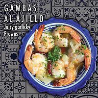 GAMBAS AL AJILLO - Juicy Garlicky Prawns