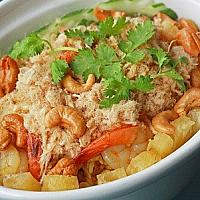 Fried rice with pineapple and cashew nut(ข้าอบสับปะรด)