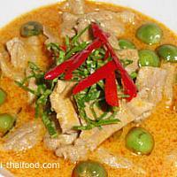 Panang Moo,Neua,Kai or Goong