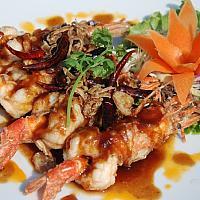 Goong Jian Sauce Ma Kham