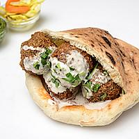 House Baked Falafel Pita