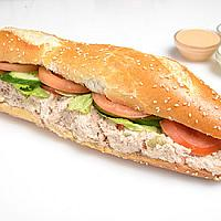 Tuna Salad baguette sandwich