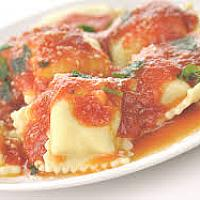 Cheese and Mushroom Ravioli