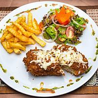 Chicken rissole