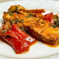 Moroccan fish fillet