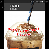COFFE OR CHOCOLATE LIEGEOIS