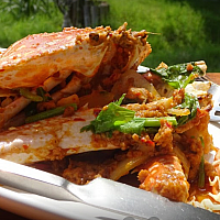 Stir Fried Crab with Curry - ปูผัดผงกะหร