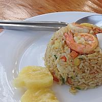Fried Rice in Pineapple - ขาวผัดสับปะรด