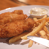 Chicken Schnitzel - ไกชุบเกล็ดขนมปั งทอด