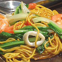 Stir Fried Yellow Noodles