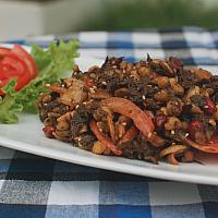 Burmese Tea Leaves salad