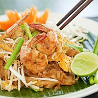 Phad Thai (Chicken, Pork or Prawn)