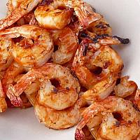 Grilled Prawns in BBQ sauce