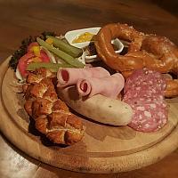 Bavarian Sausage Plate