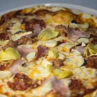 Capricciosa (pizza available after 3 PM )