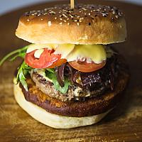 French wagyu beef burger