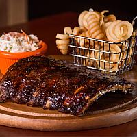 Slow-Cooked BBQ Full-Rack Ribs
