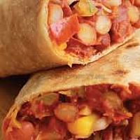 Mexican Bean Wrap