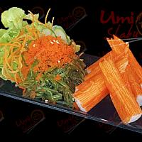 Crabstick with Seaweed Salad