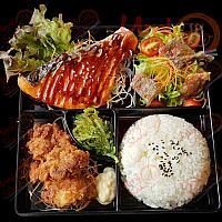 Bento grilled Salmon