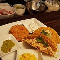 Hard Shell Tacos (3pcs) Grilled Chicken