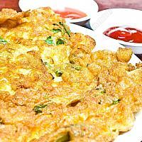 Thai Omelette (Chicken or Pork)